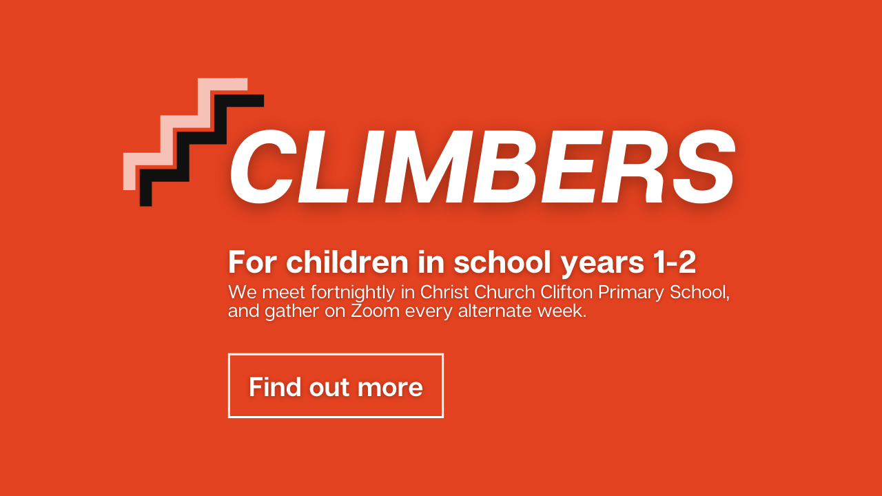 Climbers slide event graphic (