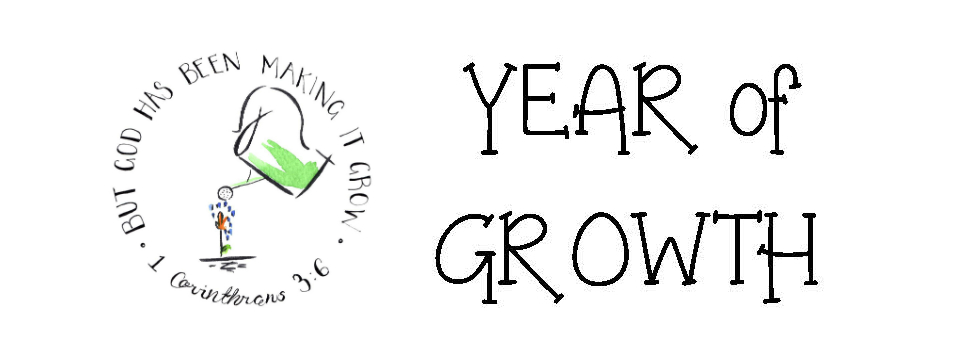 Year of Growth Banner